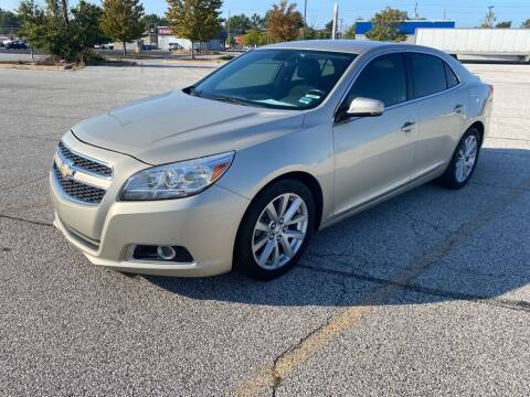 2013 Chevrolet Malibu for sale at TKP Auto Sales in Eastlake OH