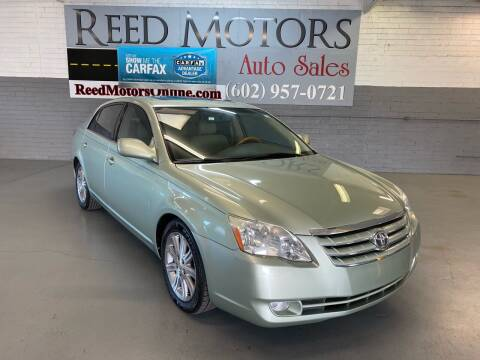 2005 Toyota Avalon for sale at REED MOTORS LLC in Phoenix AZ