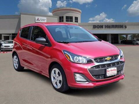 2020 Chevrolet Spark for sale at Don Herring Mitsubishi in Plano TX