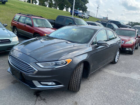 2017 Ford Fusion for sale at Ball Pre-owned Auto in Terra Alta WV