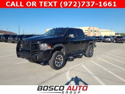 2015 RAM Ram Pickup 1500 for sale at Bosco Auto Group in Flower Mound TX