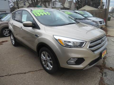 2017 Ford Escape for sale at Uno's Auto Sales in Milwaukee WI