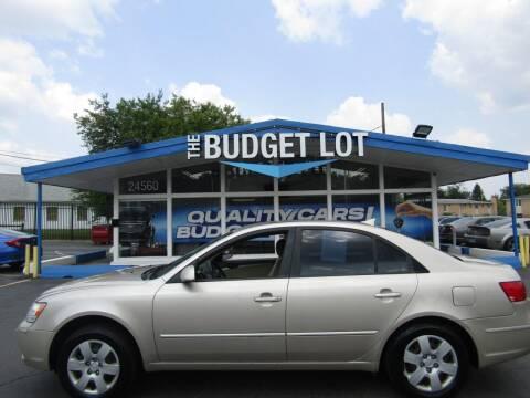 2010 Hyundai Sonata for sale at THE BUDGET LOT in Detroit MI