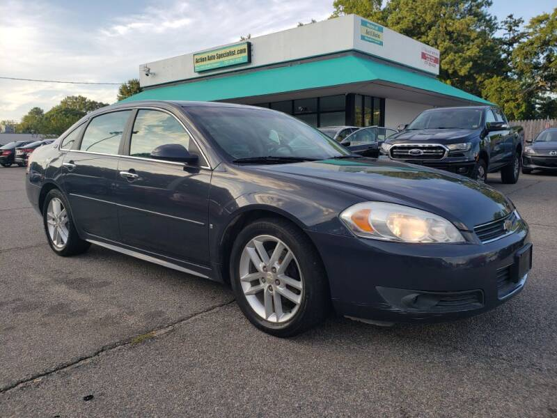 2009 Chevrolet Impala for sale at Action Auto Specialist in Norfolk VA