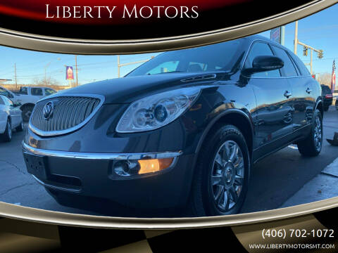 2012 Buick Enclave for sale at Liberty Motors in Billings MT