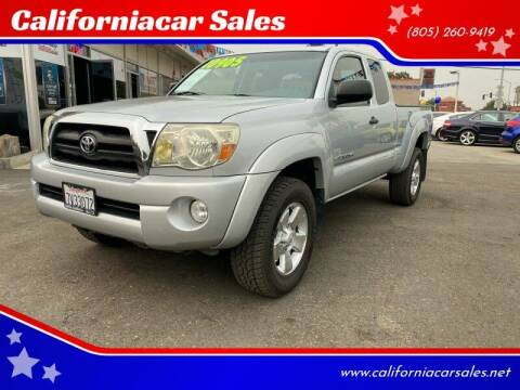 2005 Toyota Tacoma for sale at Californiacar Sales in Santa Maria CA