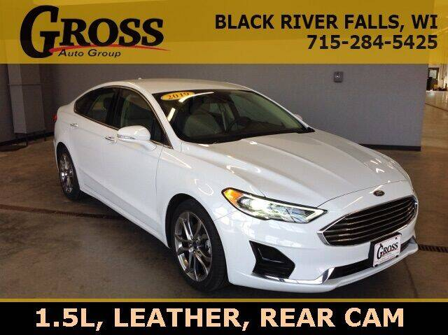 2019 Ford Fusion for sale in Black River Falls, WI
