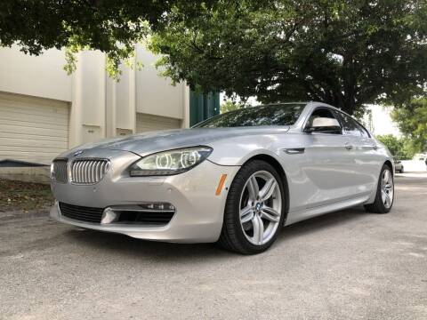 2013 BMW 6 Series for sale at Auto Direct of South Broward in Miramar FL