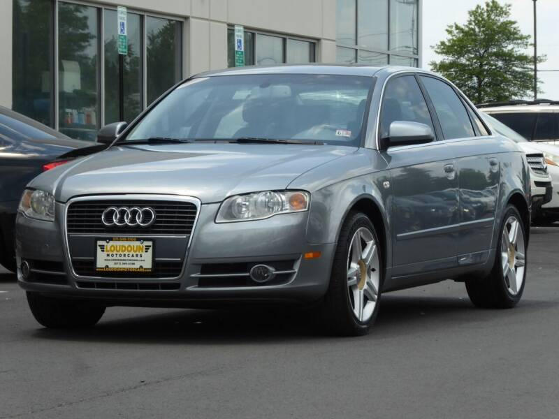 2006 Audi A4 for sale at Loudoun Used Cars - LOUDOUN MOTOR CARS in Chantilly VA