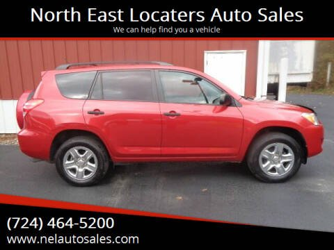 2012 Toyota RAV4 for sale at North East Locaters Auto Sales in Indiana PA