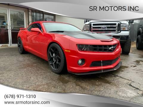 2013 Chevrolet Camaro for sale at SR Motors Inc in Gainesville GA