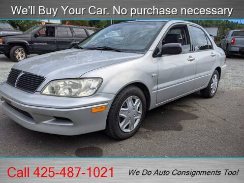 2002 Mitsubishi Lancer for sale at Platinum Autos in Woodinville WA