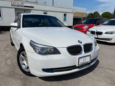 2010 BMW 5 Series for sale at KAYALAR MOTORS in Houston TX