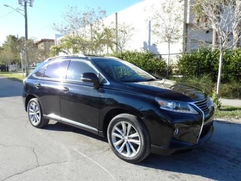 2013 Lexus RX 350 for sale at SUPER DEAL MOTORS in Hollywood FL
