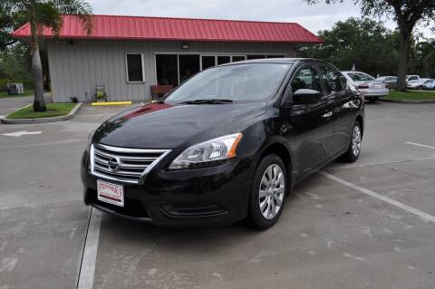2013 Nissan Sentra for sale at STEPANEK'S AUTO SALES & SERVICE INC. in Vero Beach FL