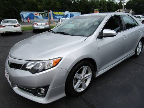 2014 Toyota Camry for sale at Route 12 Auto Sales in Leominster MA