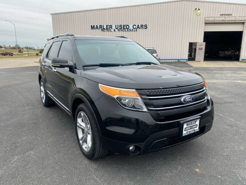 2013 Ford Explorer for sale at MARLER USED CARS in Gainesville TX