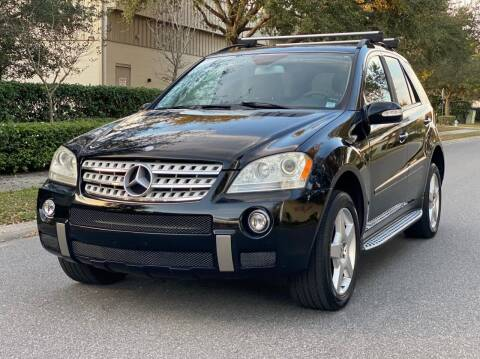2008 Mercedes-Benz M-Class for sale at Presidents Cars LLC in Orlando FL