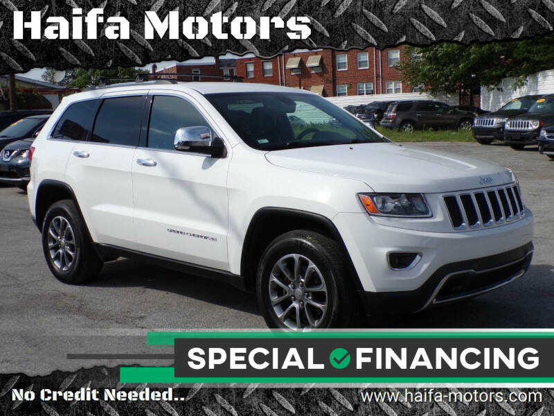 2014 Jeep Grand Cherokee for sale at Haifa Motors in Philadelphia PA