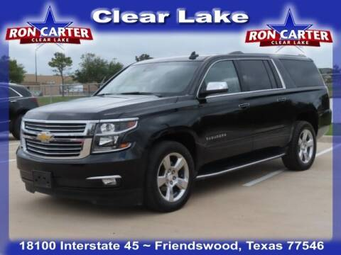 2017 Chevrolet Suburban for sale at Ron Carter  Clear Lake Used Cars in Houston TX