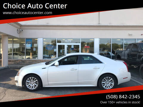 2011 Cadillac CTS for sale at Choice Auto Center in Shrewsbury MA