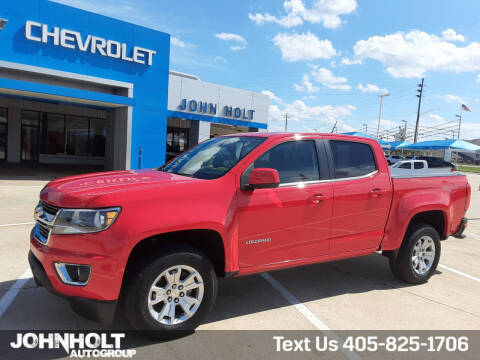 2018 Chevrolet Colorado for sale at JOHN HOLT AUTO GROUP, INC. in Chickasha OK