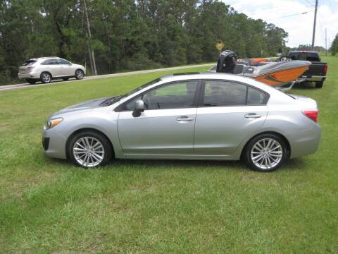 2013 Subaru Impreza for sale at Ward's Motorsports in Pensacola FL