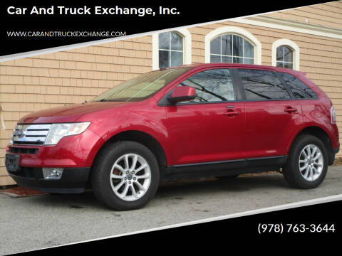2007 Ford Edge for sale at Car and Truck Exchange, Inc. in Rowley MA