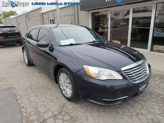 2014 Chrysler 200 for sale at TWIN RIVERS CHRYSLER JEEP DODGE RAM in Beatrice NE