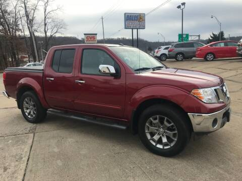 2019 Nissan Frontier for sale at DALE'S PREOWNED AUTO SALES INC in Moundsville WV