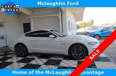 2018 Ford Mustang for sale at McLaughlin Ford in Sumter SC
