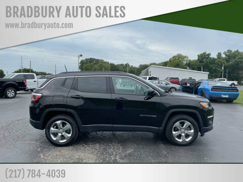 2017 Jeep Compass for sale at BRADBURY AUTO SALES in Gibson City IL