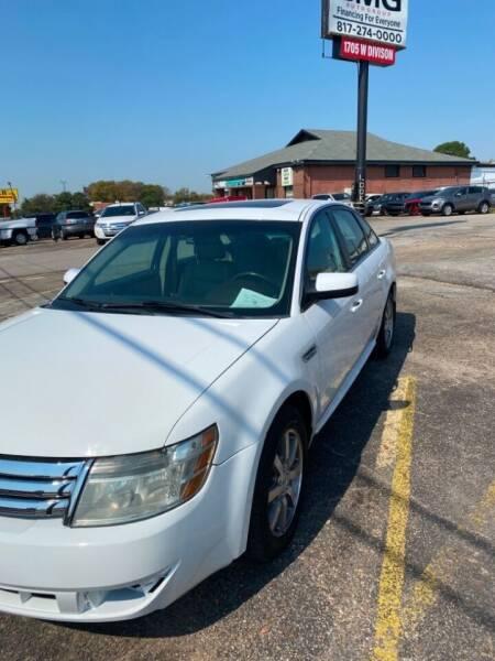 2008 Ford Taurus SEL 4dr Sedan - Arlington TX