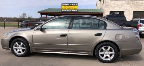 2005 Nissan Altima for sale at Driver's Choice in Sherman TX