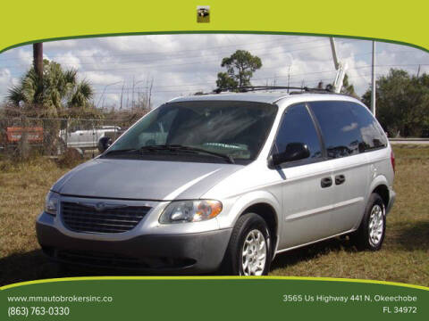 2001 Chrysler Voyager for sale at M & M AUTO BROKERS INC in Okeechobee FL