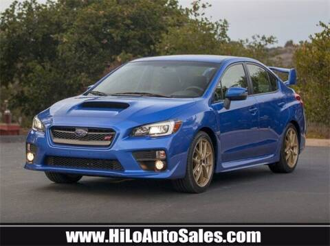 2015 Subaru WRX for sale at Hi-Lo Auto Sales in Frederick MD