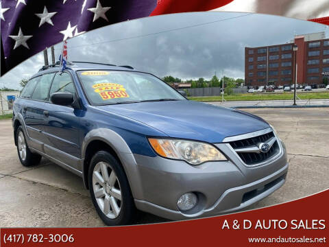 2008 Subaru Outback for sale at A & D Auto Sales in Joplin MO
