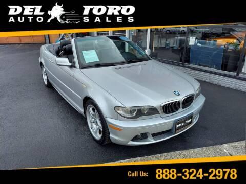 2005 BMW 3 Series for sale at DEL TORO AUTO SALES in Auburn WA