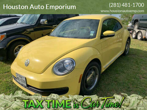 2012 Volkswagen Beetle for sale at Houston Auto Emporium in Houston TX