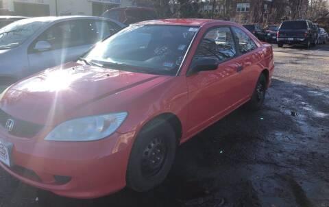 2004 Honda Civic for sale at Professional Car Zone in Taunton MA