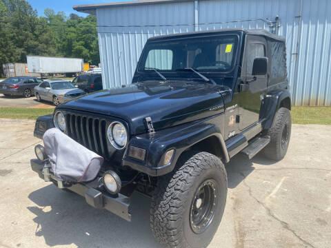 2000 Jeep Wrangler for sale at Elite Motor Brokers in Austell GA