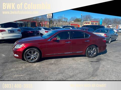 2009 Lexus LS 460 for sale at BWK of Columbia in Columbia SC