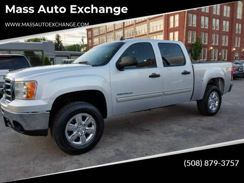 2013 GMC Sierra 1500 for sale at Mass Auto Exchange in Framingham MA