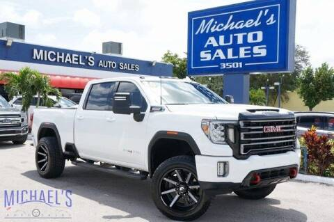 2020 GMC Sierra 3500HD for sale at Michael's Auto Sales Corp in Hollywood FL