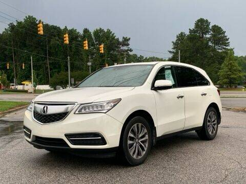 2014 Acura MDX for sale at GR Motor Company in Garner NC
