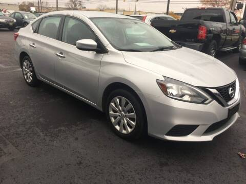 2018 Nissan Sentra for sale at ENZO AUTO in Parma OH