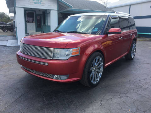 2011 Ford Flex for sale at CAR-RIGHT AUTO SALES INC in Naples FL