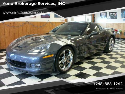 2012 Chevrolet Corvette for sale at Yono Brokerage Services, INC in Farmington MI