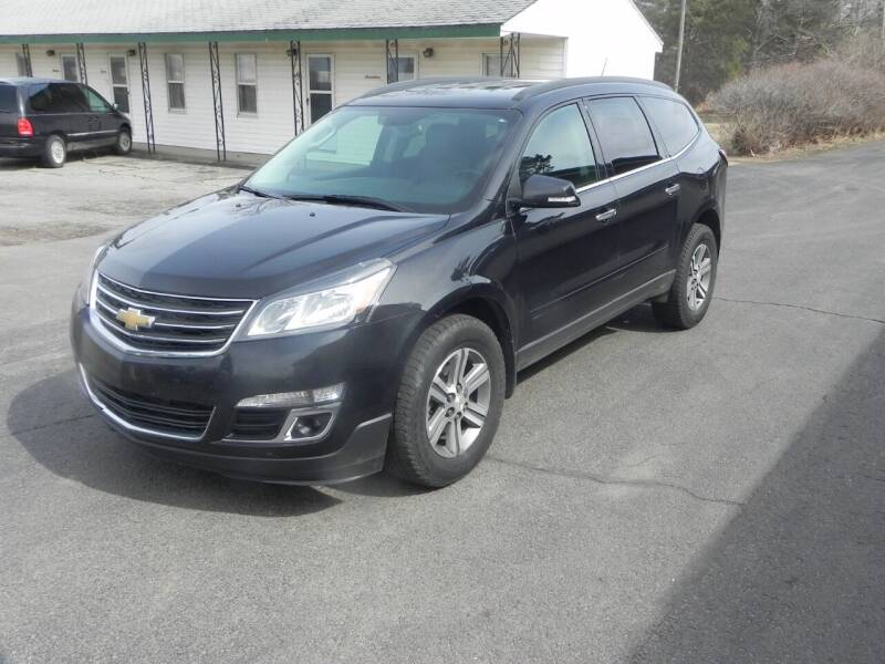 2015 Chevrolet Traverse for sale at Thompson Car Company in Bad Axe MI