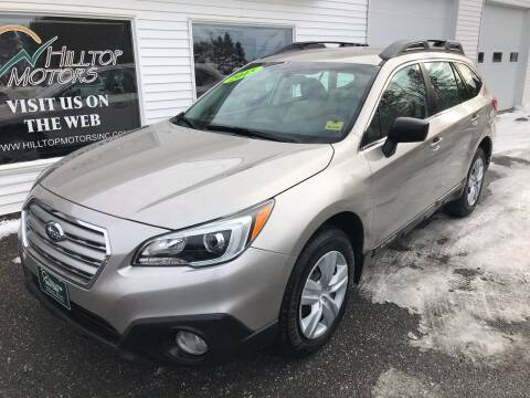 2015 Subaru Outback for sale at HILLTOP MOTORS INC in Caribou ME
